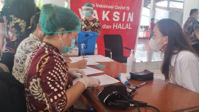 Vaksinasi di Kabupaten Minsel Capai 87.768 Dosis