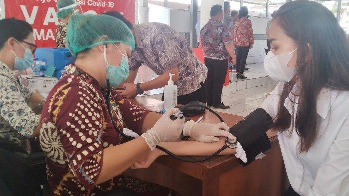 Dinas Kesehatan dan Polres Minsel Suntikkan 45.549 Dosis Vaksin Covid-19, Antusias Warga Meningkat