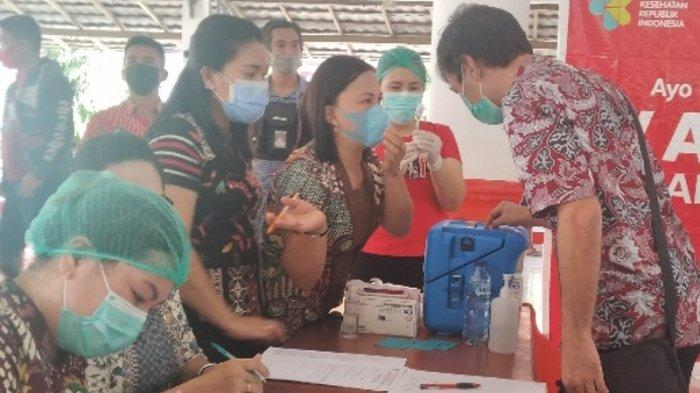 Dinas Kesehatan Minsel Suntikkan 58.725 Dosis Pertama Vaksin Covid-19