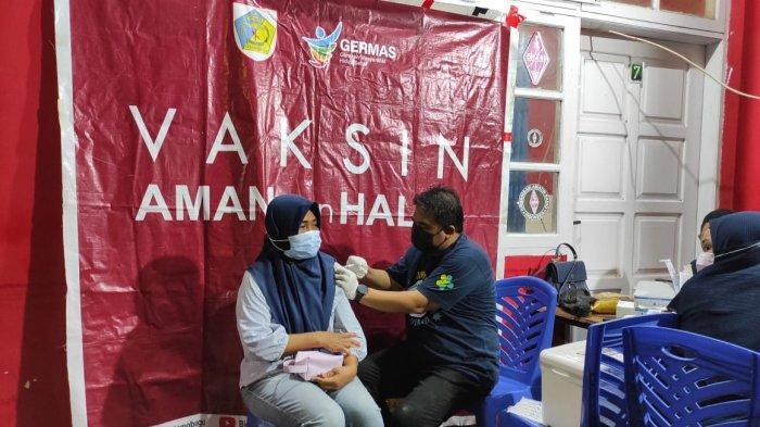 Gencarkan Vaksinasi Covid-19, Dinkes Kotamabagu Sasar Pasar Kuliner