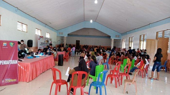 429 Warga Kecamatan Tutuyan Kabupaten Boltim Ikut Vaksinasi