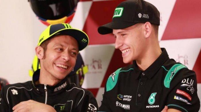 Jadwal MotoGP Belanda 2019, Valentino Rossi Komentari Soal Penampilan Kompetitornya Fabio Quartararo