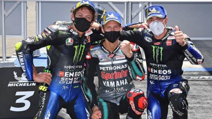 Klasemen MotoGP 2021 Usai MotoGP Austria: Quartararo Dipuncak, Poin Rossi Terdongkrak, MarcMarquez?