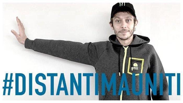 Valentino Rossi Dikarantina di Kampung Halamannya, Lakukan Hal Ini Kepada Penggemar