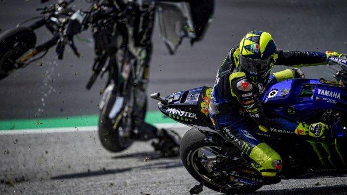 Valentino Rossi Ungkap Beberapa Insiden yang Nyaris Merengut Nyawa dan Mengguncang Mental