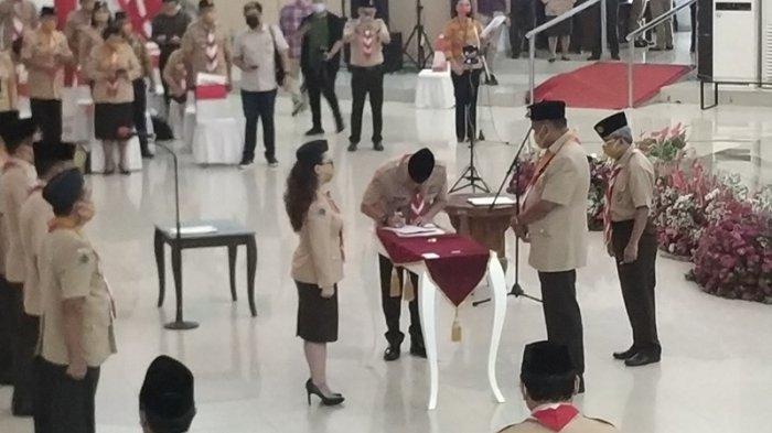 Vanda Sarundajang Dilantik Ketua Kwarda Gerakan Pramuka Sulut 2020-2025, Berikut Daftar Pengurus