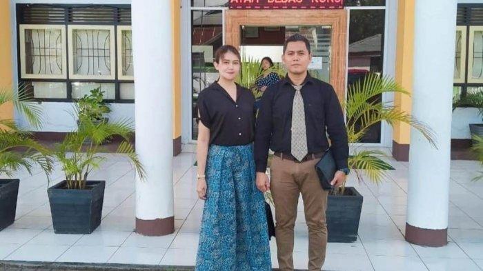 Vebry Tri Haryadi SH dan Christy AL Karundeng