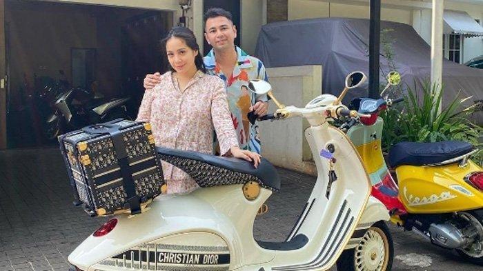 Segini Harga Vespa 946 Christian Dior Dibelikan Raffi Ahmad Untuk Nagita Lantaran Ngidam, Bikin Syok