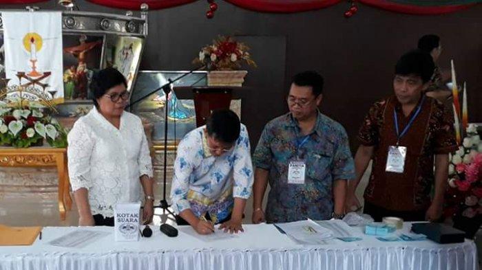 Vicky Lumentut Terpilih jadi Ketua PKB GMIM Wilayah Manado Malalayang Barat