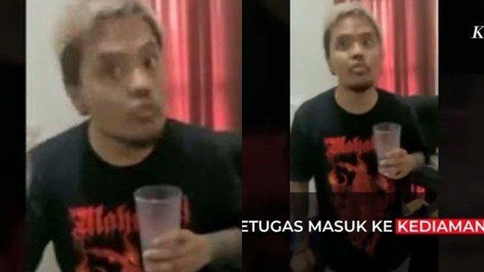 Video Detik-detik Penangkapan Coki Pardede: Sang Youtuber Ngaku Kaget sampai Minta Izin Minum