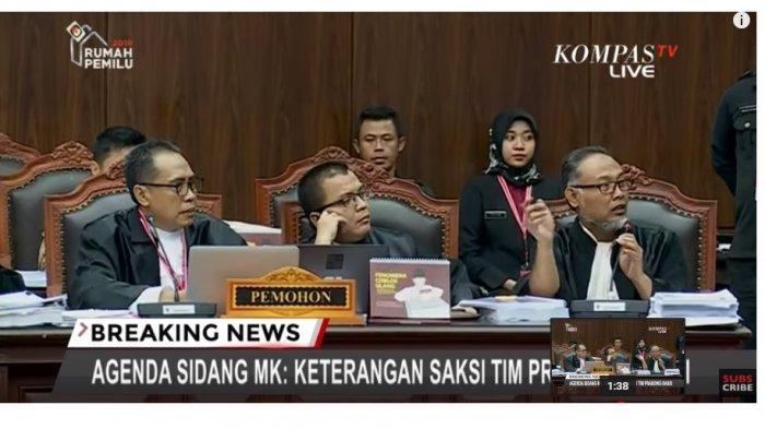 VIDEO Hakim MK: Pak Bambang Stop, Kalau Tidak Stop Saya Suruh Keluar