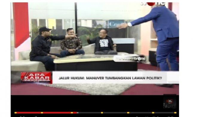 VIDEO Ketua Alumni 212 Nyaris Adu Jotos dengan Relawan Jokowi saat Live di TV, Begini Awal Ceritanya