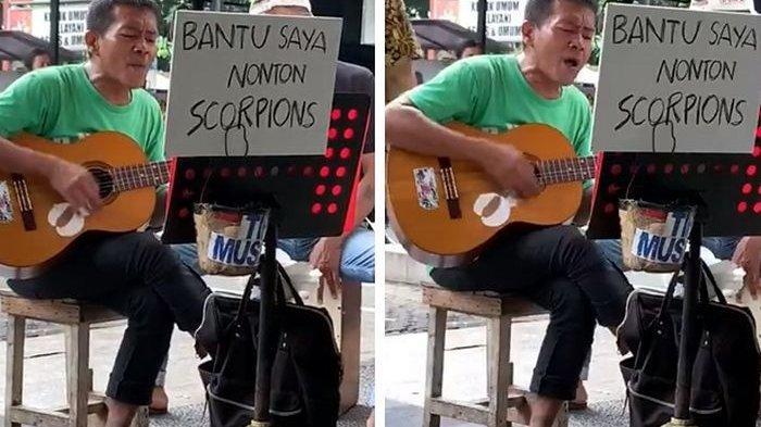 VIDEO Ngamennya Viral, Orang Indonesia Ini Bakal Ketemu Grup Band Rock Legendaris