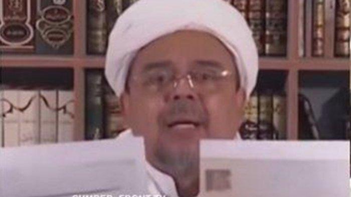 Video Pengakuan Habib Rizieq Bantah Terjerat Hukum di Arab, Tapi Dicekal Pemerintah RI untuk Pulang