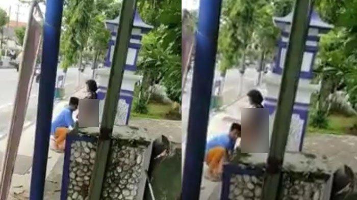 Pria Ini Lapaskan Busana Seorang Wanita di Jalanan, Warga Kabur Melihat Penampakannya