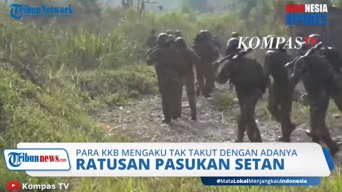 VIDEO Teroris KKB Papua Tantang NKRI dan TNI-Polri, Ancam Pasukan Setan.