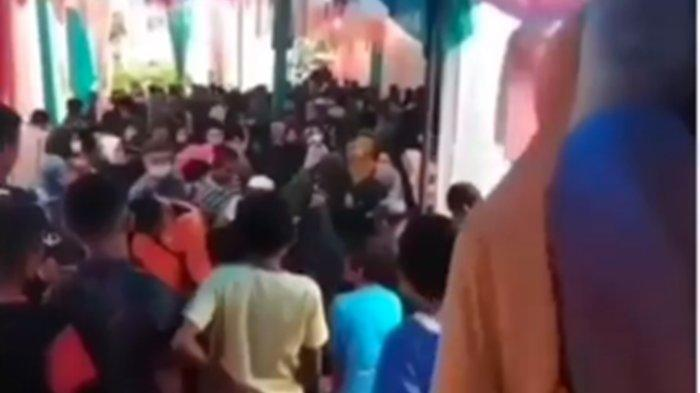 Video viral Calon Pengantin Wanita tiba-tiba Meninggal Jelang Resepsi Nikah. Calon <a href='https://manado.tribunnews.com/tag/suami' title='suami'>suami</a> <a href='https://manado.tribunnews.com/tag/pingsan' title='pingsan'>pingsan</a>.