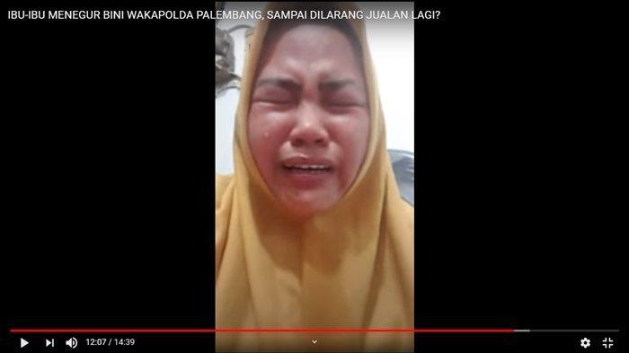 Viral Video Pedagang Wanita Marah Istri Wakapolda, Langsung Nangis Dengar Ancaman Balasannya