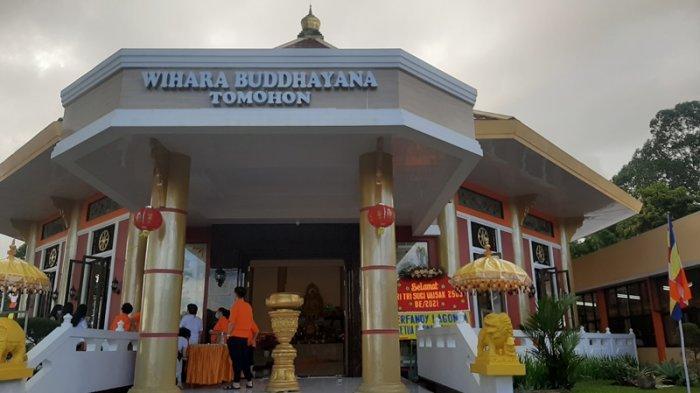 Umat Budha Rayakan Waisak di Vihara Buddhayana Tomohon, Ibadah Dibagi Dalam Empat Sesi