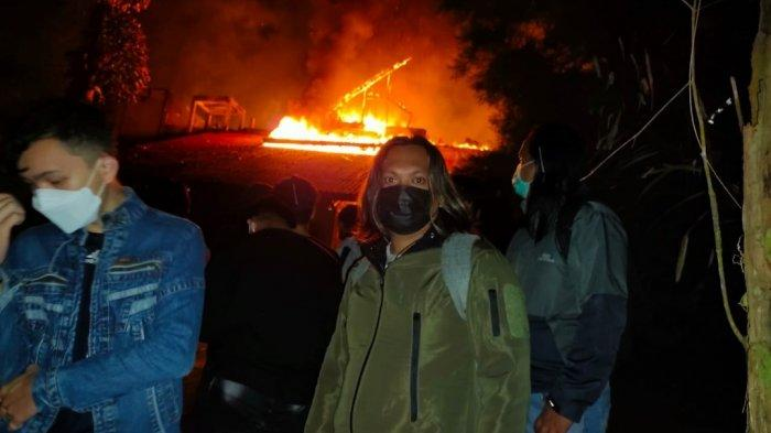 Villa Esmeralda Dekat Danau Linow Tomohon Terbakar, Begini Penjelasan Pihak Kepolisian