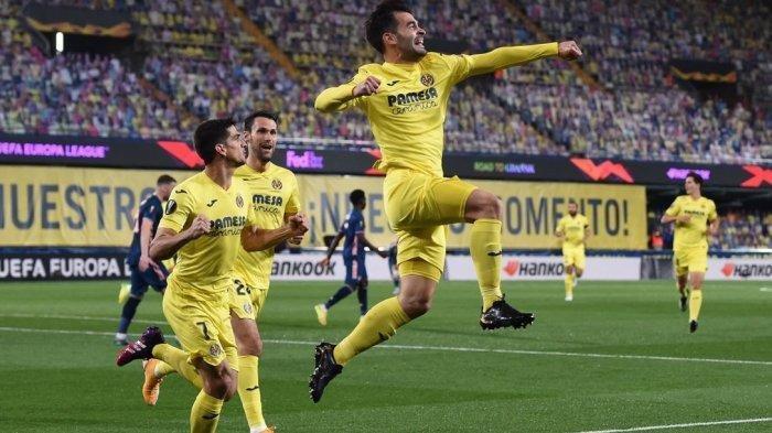 Villareal sukses menang atas Arsenal dengan skor 2-1 pada leg pertama babak semifinal Liga Europa