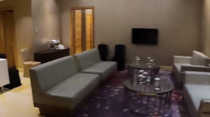 VIP Lounge lokasi acara pernikahan Ifan Seventeen dan Citra Monica