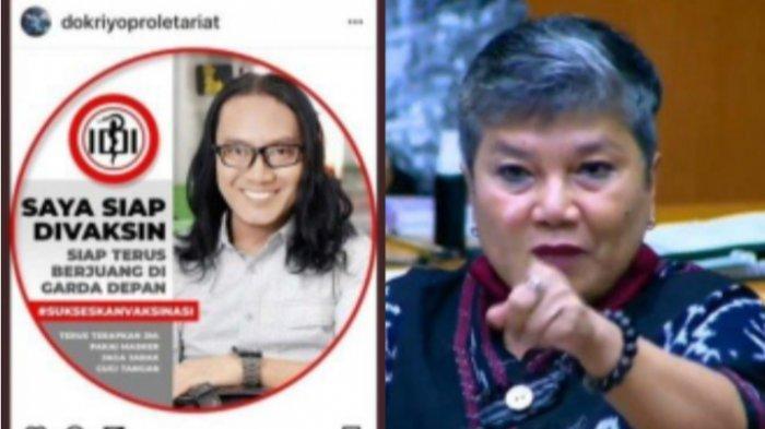 Viral anak Ribka Tjiptaning, dr. Riyo Kristian Utomo Siap Divaksin.