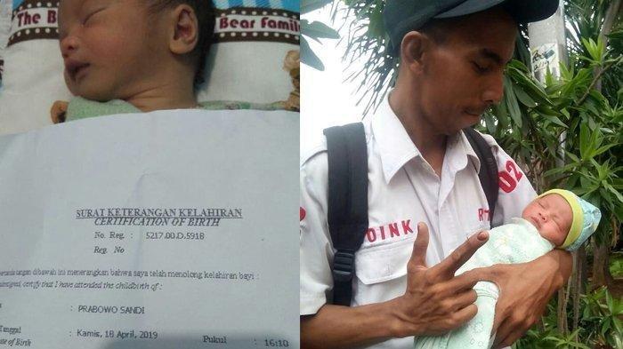 Viral, Orang Tua Yakin Capres 02 Menang Pilpres, Anaknya Diberi Nama Prabowo Sandi