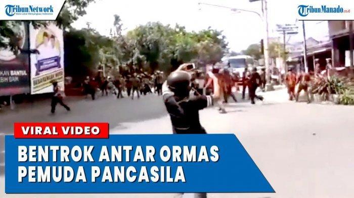 VIDEO Viral Bentrok Antar Ormas Pemuda Pancasila