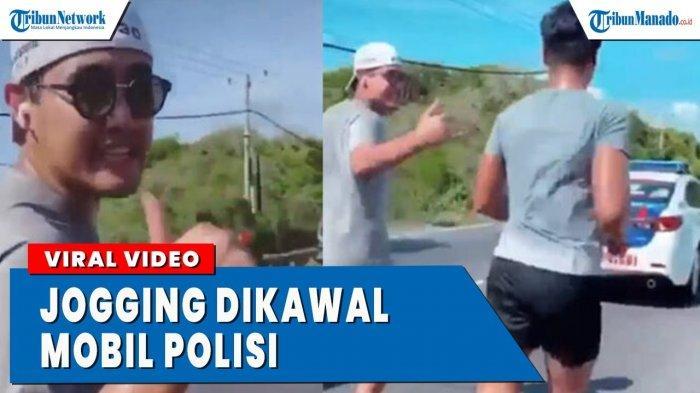 VIDEO Viral Cucu Wanita Terkaya di Indonesia Ini Jogging Dikawal Polisi