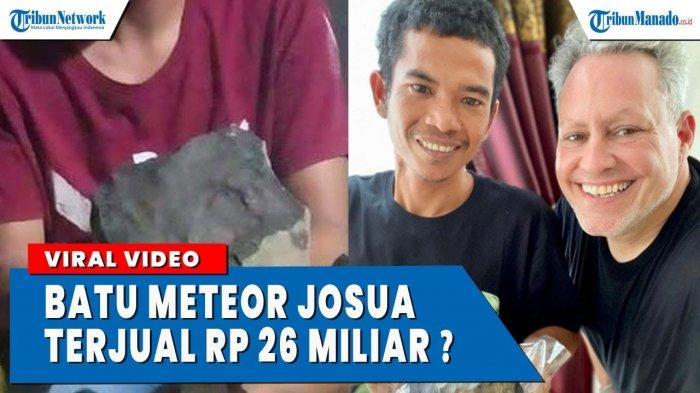 VIDEO Viral Penemuan Batu Meteor di Tapanuli Terjual Rp 26 Miliar?