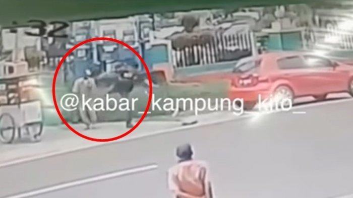 VIRAL VIDEO Penjual Bakso Ditendang Pelanggan, Tak Bayar Porsinya, Netizen Emosi dan Prihatin