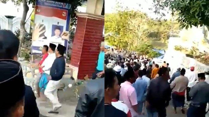 Video Viral Sekelompok Orang Bawa Celurit saat Pemilihan Kades di Madura, Begini Kata Polisi
