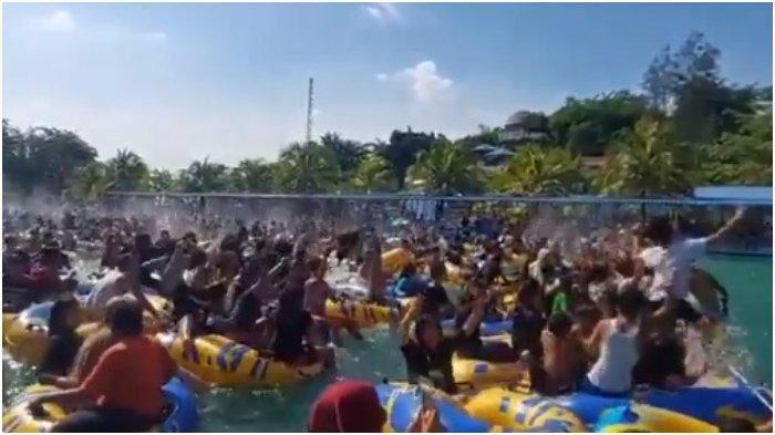 VIRAL Video Ratusan Orang 'Pesta' Kolam Renang di Medan, di Tengah Semua Berjuang Lawan Covid-19