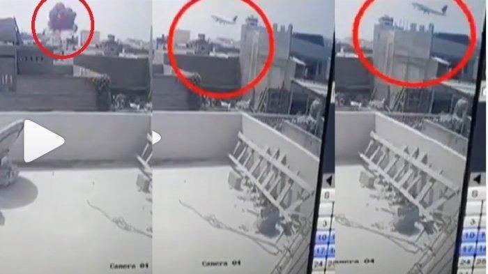 VIRAL VIDEODetik-detik Pesawat Pakistan Jatuh di Pemukiman Warga, Pilot Sempat Menjawab Ada Masalah