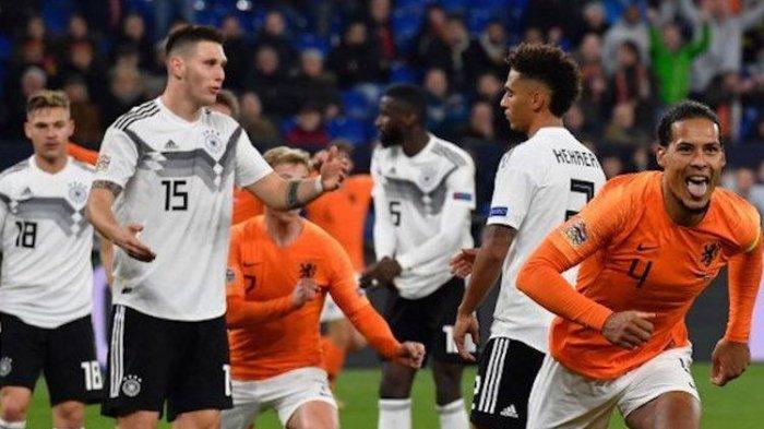 Kalah dari Jerman, Pelatih Timnas Belanda Sebut Anak Asuhnya Layak Dapat Poin