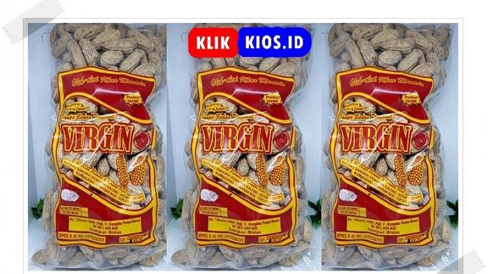 Belanja Yuk! Ada Virgin Kacang Tanah di Kios UMKM Sulut