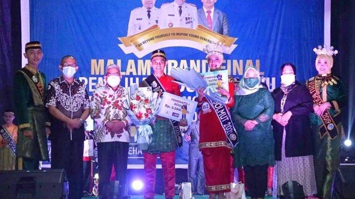 Tutup Kegiatan Final Pemilihan Boulo Vuyu Kabupaten Bolmut Tahun 2021, Ini Pesan Wabup Amin Lasena