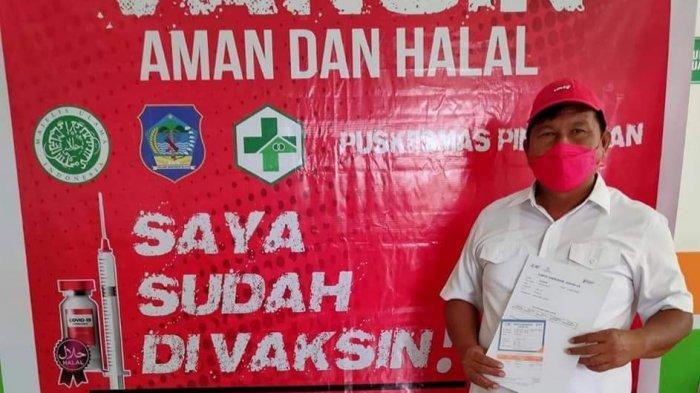 Terima Vaksin Covid-19 Perdana, Wabup Bolsel Ajak Masyarakat Tak Termakan Berita Hoax