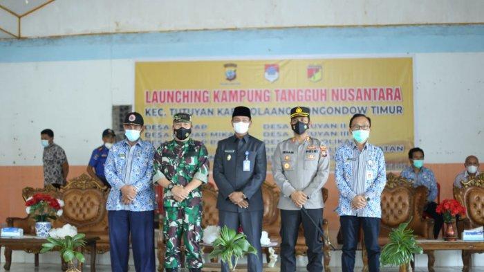 Wakil Bupati Boltim Oskar Manoppo Hadiri Launching Kampung Tangguh Nusantara
