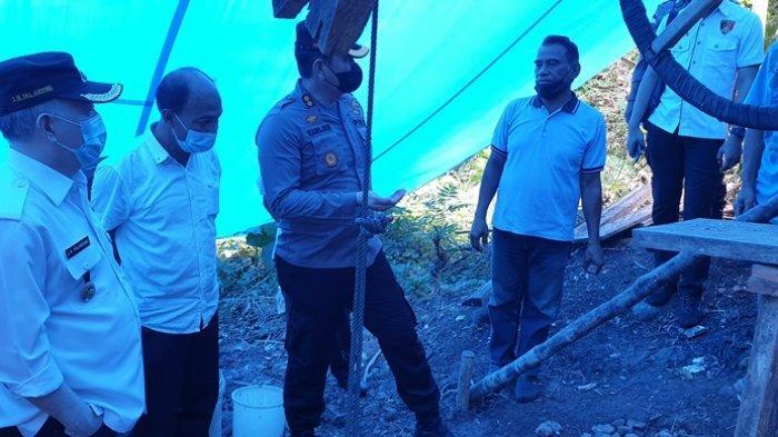 Pemerintah dan Polres Sitaro Sepakat Hentikan Aktivitas PETI Kampung Tanaki