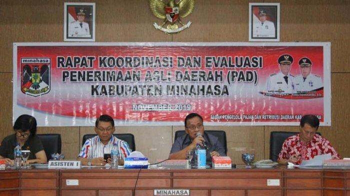Wabup Minahasa Robby Dondokambey Minta Perangkat Daerah Tingkatkan PAD