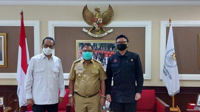 Moktar Parapaga Bertemu Dua Menteri di Jakarta, Ini Kabar Gembira Buat Masyarakat Talaud