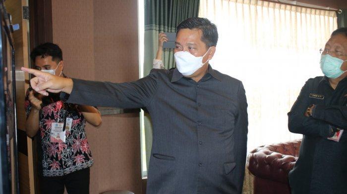 Wagub Sulut Steven Kandouw Pantau Seleksi Kompetensi Dasar CPNS 2021
