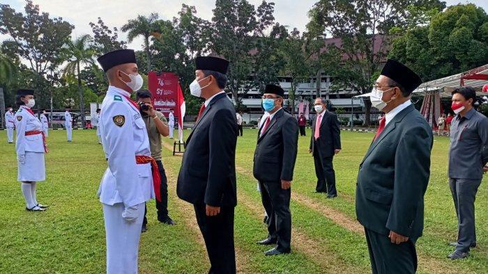 Wagub Steven Kandouw Kukuhkan 28 Paskibraka Sulut, Siap Bertugas di Hari Kemerdekaan Ke-76 RI