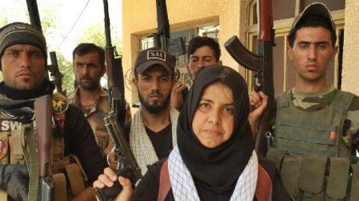 Sosok Wahida, Perempuan Irak Anti-ISIS, Dikenal sebagai Eksekutor Mati Anak Buah al-Baghdadi