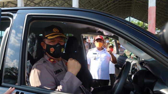 Polres Bolsel Dapat Hibah Mobil Hilux Double Cabin dari Pemkab Bolsel