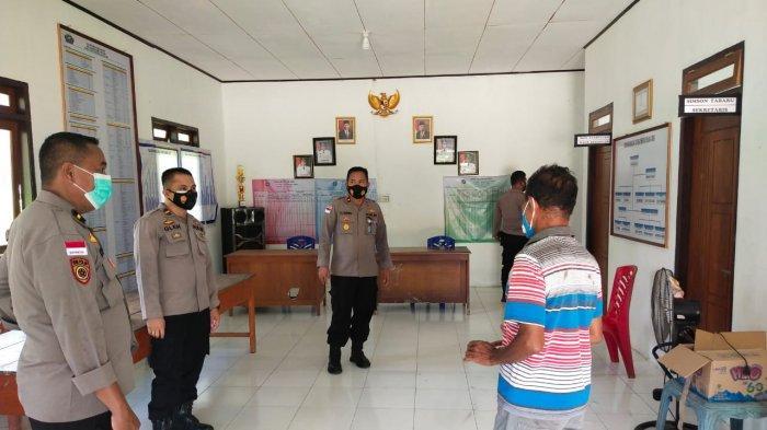 Wakapolres Talaud Tinjau Kesiapan Rumah Singgah di Mala Timur