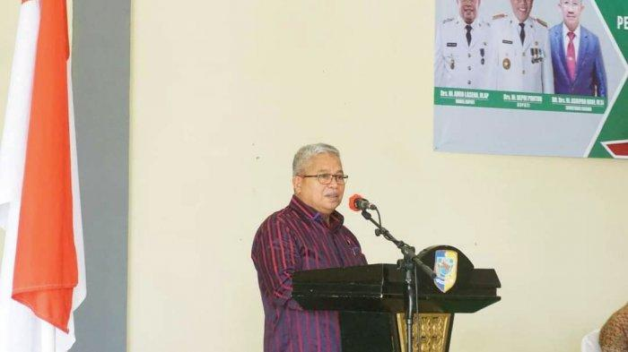 Buka Rapat BKSU, Wabup Amin Lasena Bahas Pengembangan Sektor Pertanian dan Perikanan Bolmut
