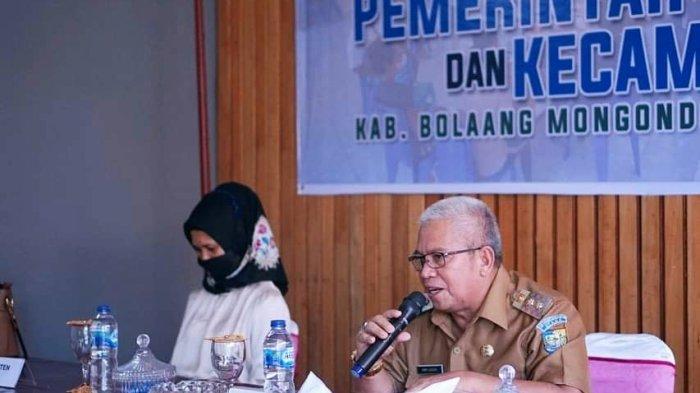 Wabup Bolmut Amin Lasena Minta Pemerintah Desa Perkuat Kerjasama dan Sinergitas